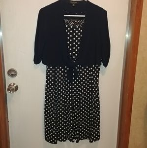 Perceptions Petite Dress with Small Jacket